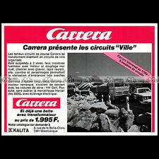 CARRERA CAMION MERCEDES & PORSCHE 911 1977 SLOT CAR RACING VINTAGE Pub Ad #B687