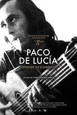 Affiche 120x160cm PACO DE LUCÍA, LÉGENDE DU FLAMENCO (2015) Curro Sánchez