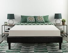 """Twin Size Memory Foam Mattress 8"""" Inch Thick Upholstery Topper Platform Pad Bed"""