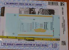 Microscale Decal N #60-1464 CitiRail (CREX) ES44AC Capital Finance (CEFX) AC4400