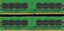 2GB ( 2 X 1GB) DDR2 PC4200 533 PC2-4200 UNBUFFERED NON ECC DESKTOP MEMORY NEW