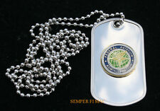 RARE FEDERAL AVIATION ADMINISTRATION FAA DOG TAG TOWER PILOT CREW GIFT AIRCREW