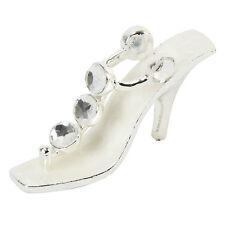 Shoe Cake Topper - Cake Topper Shoe Ornament - White Crystal Ladies Shoe Gift