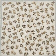 ESPRIT KOALA WHITE SMALL COTTON Scarf 18 INCHES