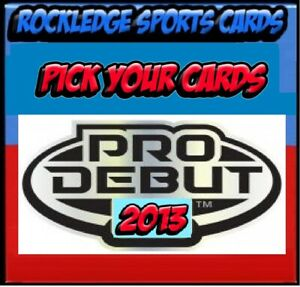 2013 Topps Pro Debut Singles 1-220 (Pick Your Cards).