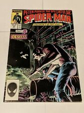 Peter Parker The Spectacular Spider-Man #131 October 1987 Marvel Comics KEY