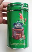 Greece Greek Coffee LOUMIDIS Parrot Collectible Tin