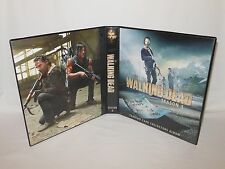 Custom Made The Walking Dead Season 5 Trading Card Binder Graphics Only