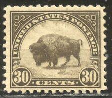 U.S. #569 Mint Nh - 1922 30c Bison, P11 ($50)