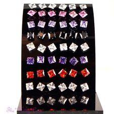 Crystal Butterfly Fastening Stainless Steel Fashion Earrings
