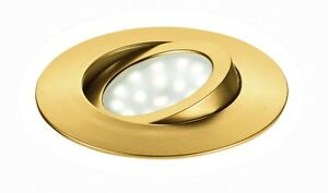 Recessed Spotlight Round A LED Adjustable Gold