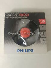 Philips GoGEAR FitDot 4GB MP3 Player, Black/Orange