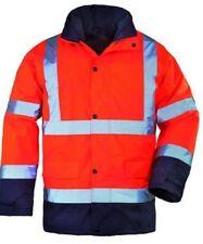 Parka blouson de travail  Haute Visibilité fluo orange  3-en-1 SECURITE T-M