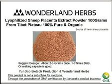 Qinghai-Tibet Plateau Sheep Ovine Placenta Extract Concentrate Powder 100 g.
