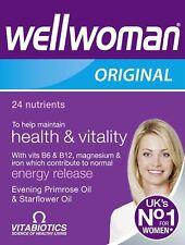 Vitabiotics Wellwoman Original Multi Vitamin Supplements 30 Tablets FAST DELIVER