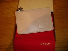 Original BALLY Kreditkartenetui beige Leder  (UVP 159,-)