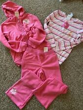 Nwt Gymboree outfit (pants, leggings, top, jacket, 7 pairs of socks) in size 7-8