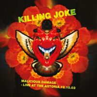 KILLING JOKE - MALICIOUS DAMAGE-LIVE AT THE ASTORIA (2 RED-VINY  2 VINYL LP NEU