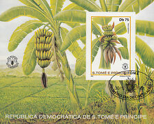 Sao Tome e Principe Nr. Bl. 79 A (750) Banane / Musa sapientum