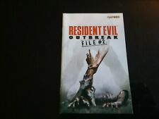 Playstation 2 resident evil outbreak file 2 notice
