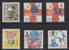 Serbia 2006 Surcharge stamps complete year, MNH