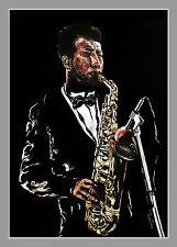 Saxofonista Ornette Coleman artprint Edition volker Welz jazz funk soul music ak