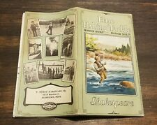 New listing Antique 1925 Shakespeare Fishing Lures Reel Rod Flies Tackle Catalog Brochure
