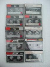 10 x used TDK D90 cassettes tape lot 5
