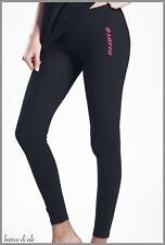Leggins Donna Sport Fitness Sportivi Yoga Palestra Cotone LOTTO  S M L XL legins