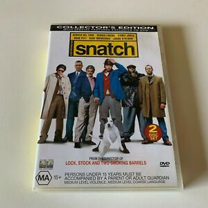 Snatch (DVD, R4, 2000) Collector's 2 Disc Edition
