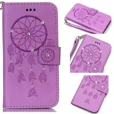 PU Leather Magnetic Flip Stand Wallet Case Cover For Apple iPhone 5 5S SE 7 Plus