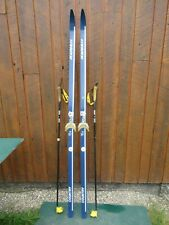 "Cross Country Skis 77"" Long KARHU 200 cm Skis And Has Poles"