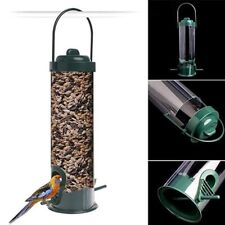 Hanging Wild Bird Feeder Seed Container Hanger Garden Outdoor Feeding Tool.