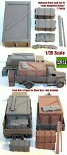 1/35 Scale resin kit Universal / Generic Truckload (Large Equipment Crates) #1