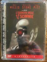 L'ESERCITO DELLE 12 SCIMMIE - BRUCE WILLIS BRAD PITT TERRY GILLIAM - DVD