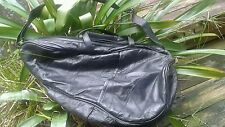 """Comfort Carry-all black leather tote """"UNISEX """"...."""