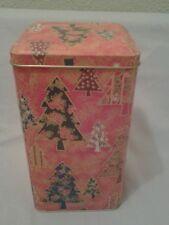 CHRISTMAS TIN BOX.....CHRISTMAS TREES...... PERFECT FOR GIFTS & TREATS