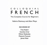Colloquial French CD: The Complete Course for Beginners   – Audiobook, CD