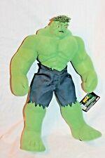 "New With Tag 14"" Incredible Hulk Marvel 2003 Plush"