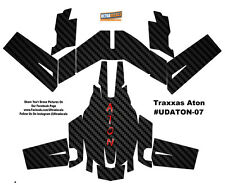 Carbon Fiber Traxxas Aton Plus Body Wrap Decal Skin Sticker Canopy Ultradecal