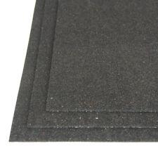 Self-Adhesive Glitter EVA Foam Sheet, 8-Inch x 12-Inch, 3-Piece, Black