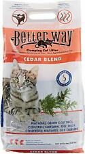 New listing Better Way Cedar Formula Clumping Bentonite Cat Litter With Sanel Cat Attractant