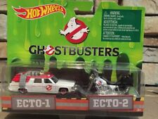 Hotwheels Ghostbusters Ecto-1 And Ecto-2 Set Mattel