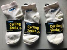 New-Old-Stock Three (3) Pair Shimano Logo Socks Medium (5-8M; 5-10W) Made in USA