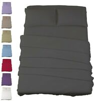 Egyptian Comfort 4 Piece Bed Sheet Set 1800 Series Ultimate Deep Pocket Sheets
