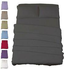Egyptian Comfort 4 Piece Bed Sheet Set 1800 Series Ultimate Deep Pocket Sheets