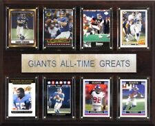 C & I Collectables 1215ATGNYG NFL New York Giants All-Time Greats Plaque