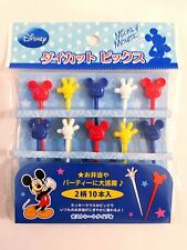 Disney Mickey Mouse Food Picks 10pcs KN-04308