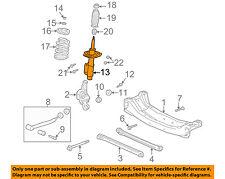 Oldsmobile GM OEM 99-02 Alero Rear Suspension-Strut 88985523