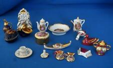 Limoges French Porcelan Miniature and Doll House Porcelain Ornaments Collection